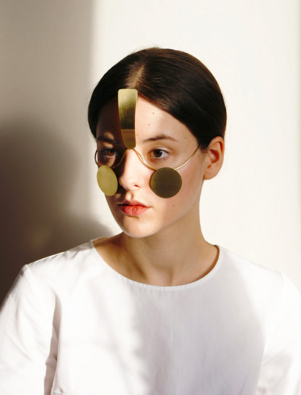 The 'Surveillance Exclusion' mask, designed by Jip van Leeuwenstein